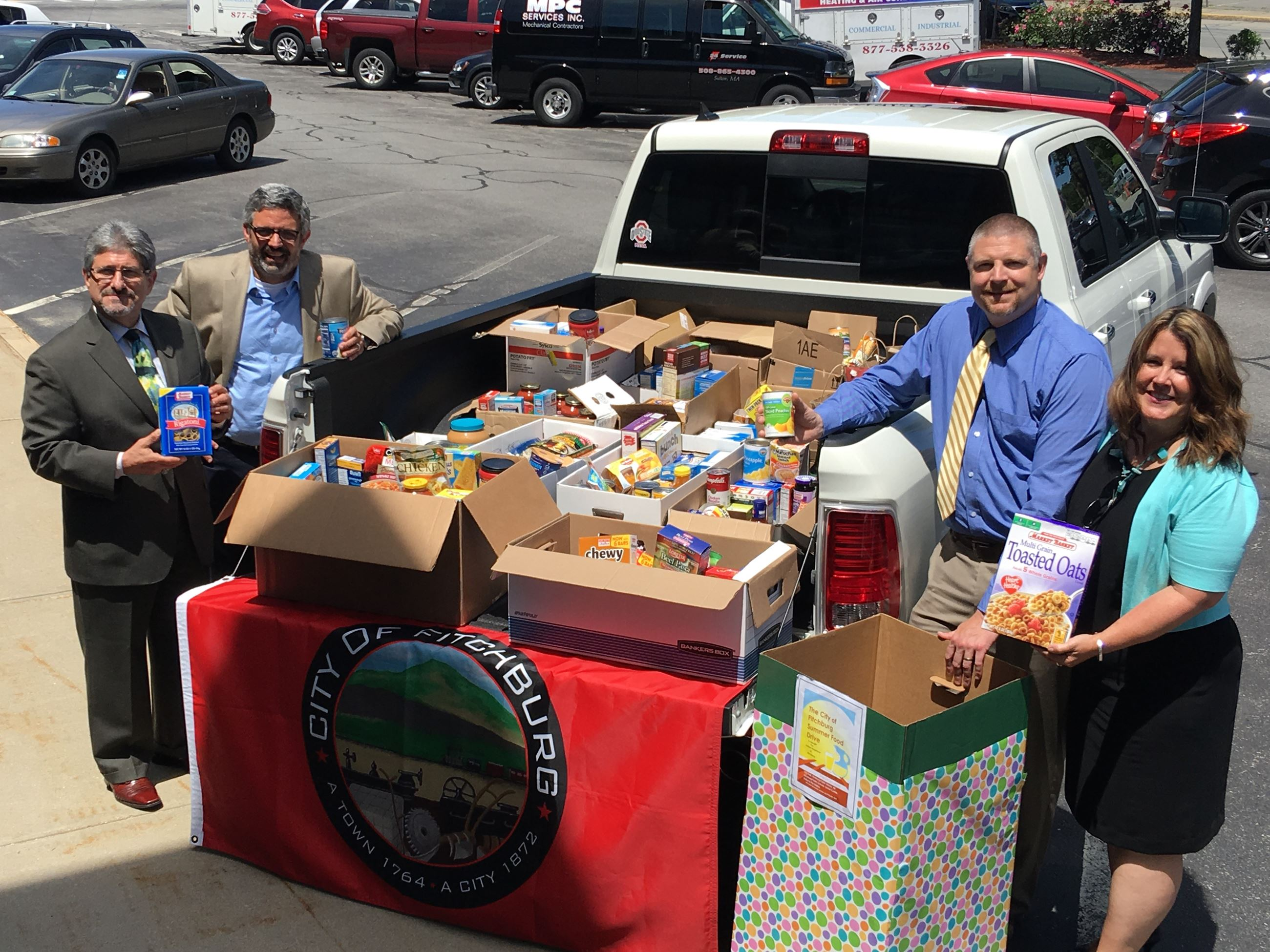 food drive pic. dinatale